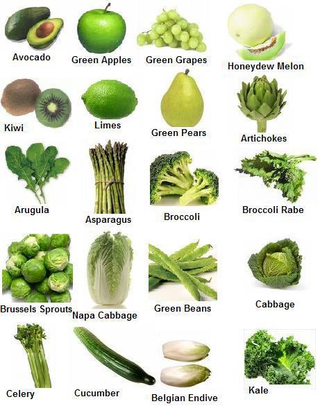 Nombre de verduras - Imagui